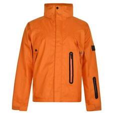 K100 Karrimor Pavimento Giacca A Vento Giacca Lavato Arancione Grande TD081 DD 04