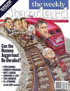 Weekly Standard Magazine Mitt Romney The Worst Obama White House Aide 2012