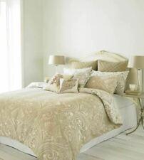 Chatsworth Double Duvet Bed Set Beige Reversible NEW (B)
