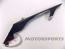2007 2008 R1 Rear Chain Guard Mud Panel Cover Cowl Fairing Carbon Fiber Blue