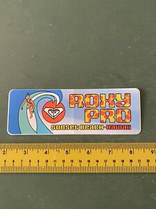 Roxy Pro Sticker Surfing
