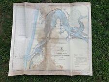 Oregon 1946 US WEST COAST  Umpqua River Pacific Ocean Reedsport MAP CHART USCGS