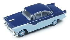 HO Scale-Classic Metal Works-30401-1955 Ford Fairlane Town Sedan-2 Tone Blue