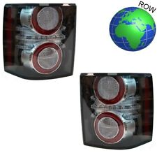 PAIR of 2012 Black LED Rear Lights for Range Rover L322 conversion new tail lamp
