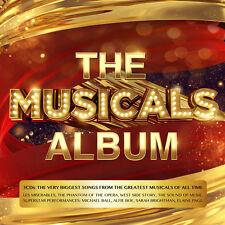 The Musicals Album 3 CD Set Various Artists - Release June 2017