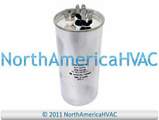 NEW Motor Round Single Run Capacitor 15 MFD 370 440 VAC Volt Packard PRFC15