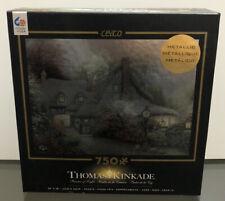 NEW Thomas Kinkade Painter of Light Special Edition 750 Piece Metallic Puzzle