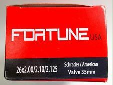 """1 Inner Tube 26x2.125 2.10 MTB ATB American Schrader Regular Valve 26"""" inch 2.0"""
