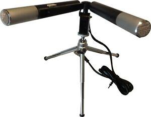Uher Report M 640 Stereo-Mikrofon m. Stativ - gebraucht, aber sehr gepflegte