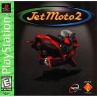 Jet Moto 2 (Greatest Hits) - PlayStation 1 (PS1) Game *CLEAN VG