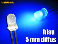 50 Stück LED 5mm blau matt/diffus ultrahell
