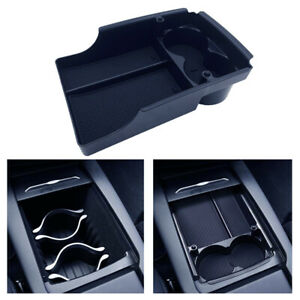 Tesla Model S Model X Centre Console Storage tray with twin cup Holders UK Stock