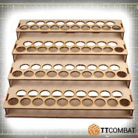 TTCombat BNIB Vallejo Mega Paint Rack 76 TTSCW-HBA-038