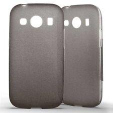 Housse Coque Etui Samsung Galaxy Ace 4 Silicone Gel Protection arrière- Noir