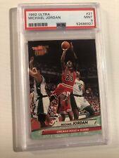 1992-93 Ultra Michael Jordan Bulls 27 Mint PSA 9