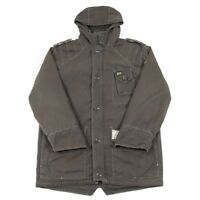 VGC Vintage G-STAR Quilted Hooded Parka Jacket | Men's XL | Retro Coat Padded