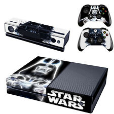 Star War Decal Cover Skin Joker Sticker For Xbox ONE with 2 Controller Cover USA