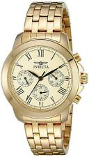 Invicta 21654 Specialty Women's 37mm Gold-Tone Stainless Steel Gold Dial Watch