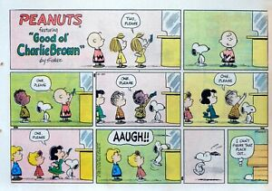 Peanuts by Charles Schulz - 1st Franklin color Sunday comic page - Oct. 20, 1968