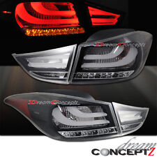 Black housing LED Tail lights for 2011-2013 Hyundai Elantra GLS Limited sedan