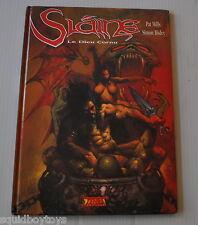 SLAINE : Le Dieu Cornu BD French Comic PAT MILLS / SIMON BISLEY Zenda