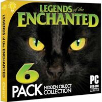 Legends of the Enchanted Hidden Object PC Games 6 Pack DISC ONLY NO CASE NO ART