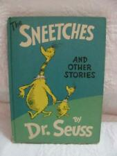 Dr. Seuss The Sneetches and Other Stories - Hardback c1961 - Random House