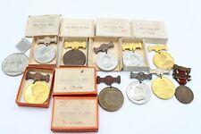 More details for 12 x antique / vintage royal medallions / medals inc victoria, edward vii etc
