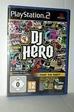 DJ HERO GIOCO USATO OTTIMO STATO SONY PS2 EDIZIONE ITALIANA ML3 42228