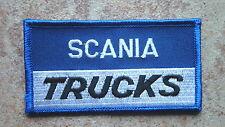 2 Stück Aufnäher Scania Trucks  LKW Neu  (Nr.812)