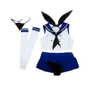 Kantai Collection Shimakaze Dress Uniform Set Cosplay Game Costume gift N