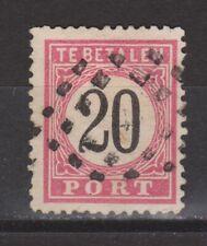 Port 9 B type 3 used Nederlands Indie Netherlands Indies Indonesia due portzegel