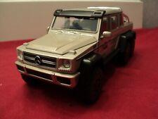 "Jada Mercedes-Benz G63 AMG 6x6 New no box 1/24 scale ""Jurassic Park """