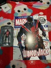 Eaglemoss Marvel Classic Figurine Collection Issue 107 Union Jack With Magazine