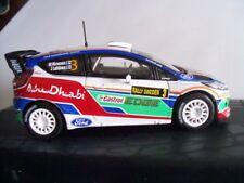 2011 FORD FIESTA RS WRC WINNER SWEDEN RALLY M.HIRVONEN /J. LEHTINEN IXO 1/43 NEW