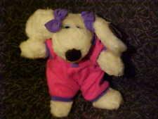 "12"" Cher Le Mutt & Fiffi Neice Plush Stuffed Dog Toy W/Tags Francesca Ertl 1997"