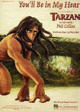 Phil Collins You'll Be In My Heart Learn to Play Tarzan PIANO PVG Music Book