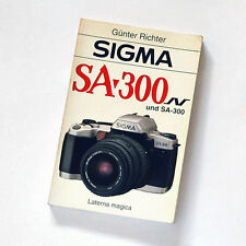 Günter Richter * Sigma SA-300 und SA-300N