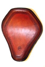 Rich Phillips Leather Hand Tooled Leather Harley Chopper Seat Sportster Bobber T