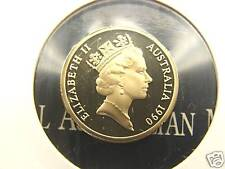 Brilliant coin in 2 x 2 holder!** Only 41,590 made ***1991 10  cent proof coin