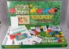 Totopoly - The Great Race Game Vintage  Waddingtons 1978 100% Complete EXCELLENT