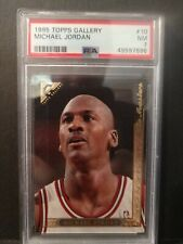 Michael Jordan 1995 Topps Gallery PSA 7