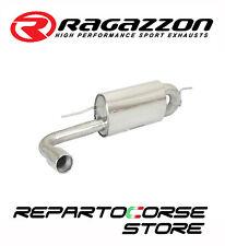 RAGAZZON SCARICO TERMINALE TONDO 90mm BMW SERIE 1 F20/21 118i 170CV - N13 11->15