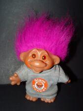 "New listing Troll Doll 5"" Dam Norfin Playmate Slam Dunker BasketBall Purple Hair"