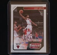 2019-20 Panini Chronicles Threads Rookie RC Coby White Chicago Bulls #95