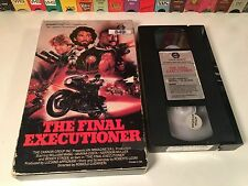 * The Final Executioner 80's Post-Apocalyptic Sci Fi VHS 1984 Italian Action