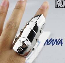 NANA Ai Yazawa Punk Cosplay Ring Armour Scleromere Rock Gothic Knuckle Ring