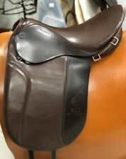 "Stubben 18"" 31CM Gaited Pleasure English Saddle Two-Tone Brown Model 6000185 NEW"