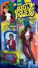 "Austin Powers 6"" Talking Action Figure (Red Suit) McFarlane 1999 New!"
