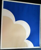 LITHOGRAPH OF CLOUD ARTIST SIGNED